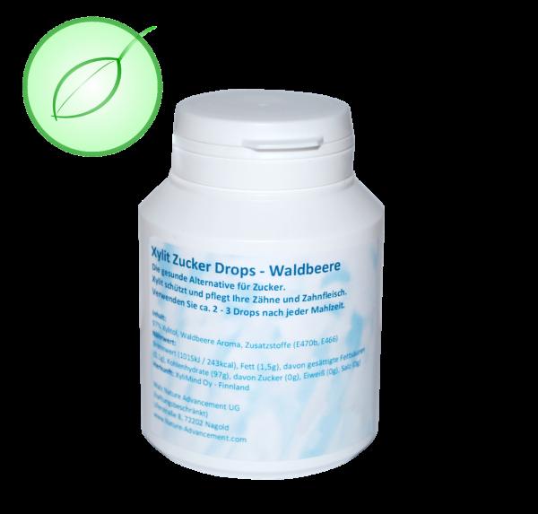 Waldbeere - Xylit Zucker Drops